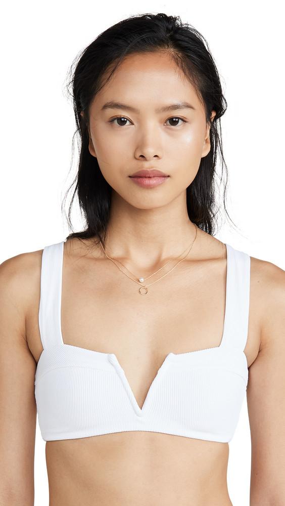 LSpace L*Space Lee Lee Bikini Top in white
