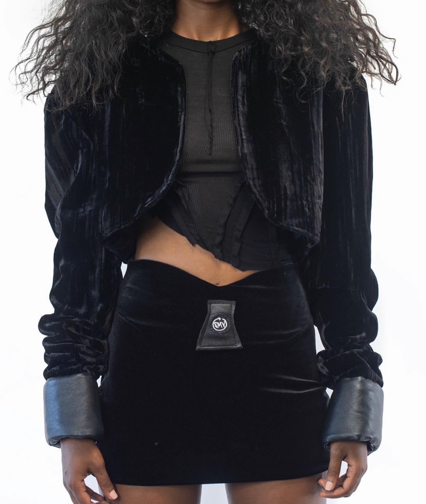 jacket top skirt