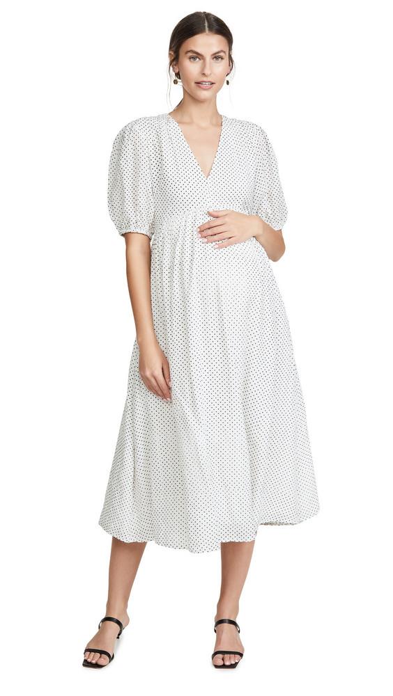 HATCH The Melanie Dress in ivory