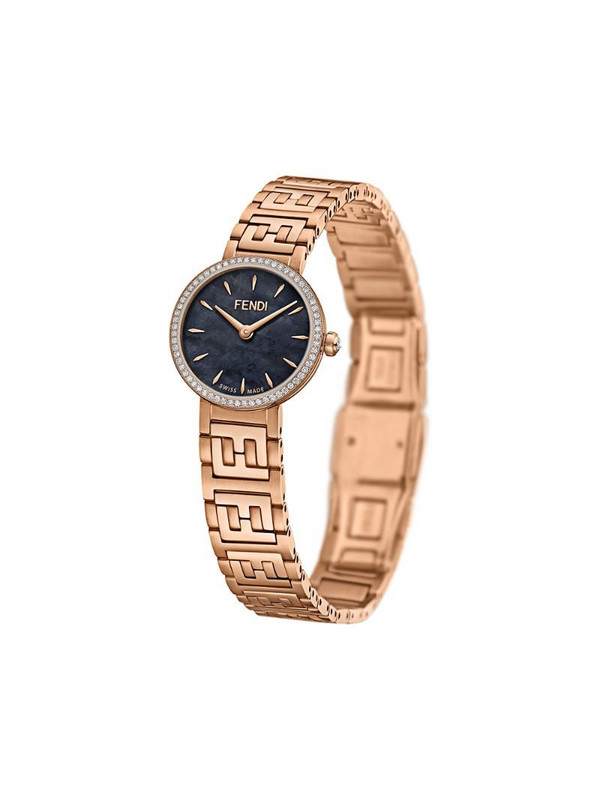 Fendi Forever 19 watch in gold