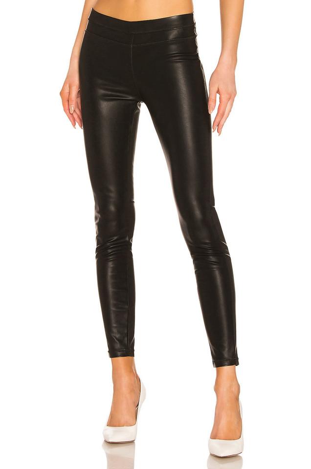 BLANKNYC Pussy Cat Vegan Leather Legging in black