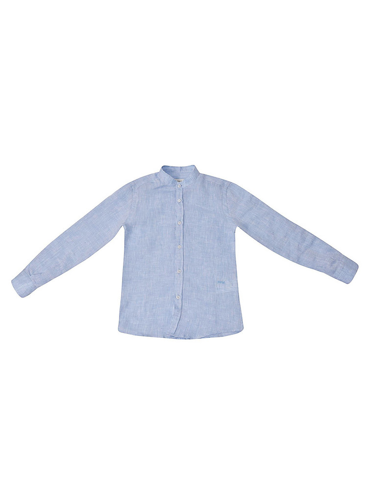 Paolo Pecora Button-up Shirt in azure