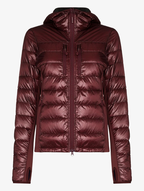Canada Goose Hybridge Lite quilted down jacket in red