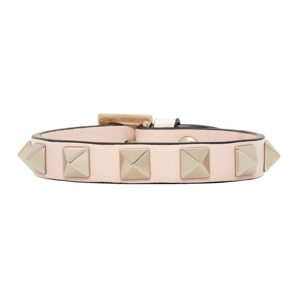 Valentino Pink Valentino Garavani Rockstud Bracelet