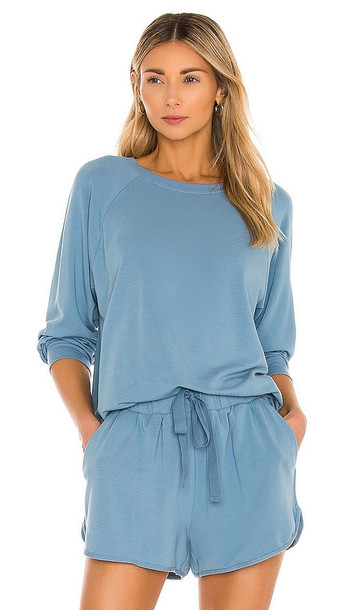 eberjey Blair Sweatshirt in Blue