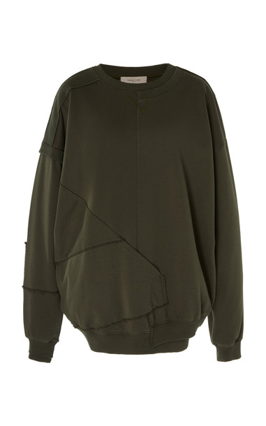 Preen Line Lola Sweatshirt in khaki