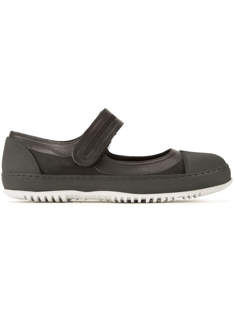 Marni canvas Mary Jane sneakers in black