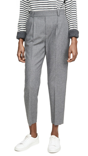 Vince Easy Tapered Pull On Pants in grey