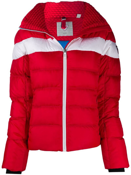 Rossignol Hiver Down Ski Jacket in red