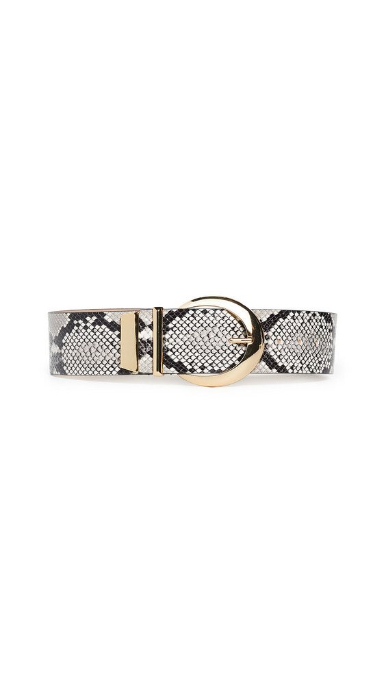 B-Low The Belt Kate Python Belt in gold / white