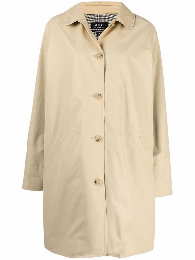 A.P.C. A.P.C. Lou trench coat - Neutrals