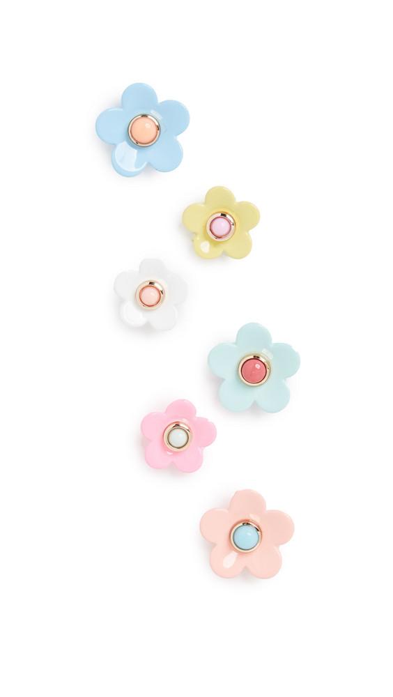 Roxanne Assoulin Flower Stud Earrings in multi