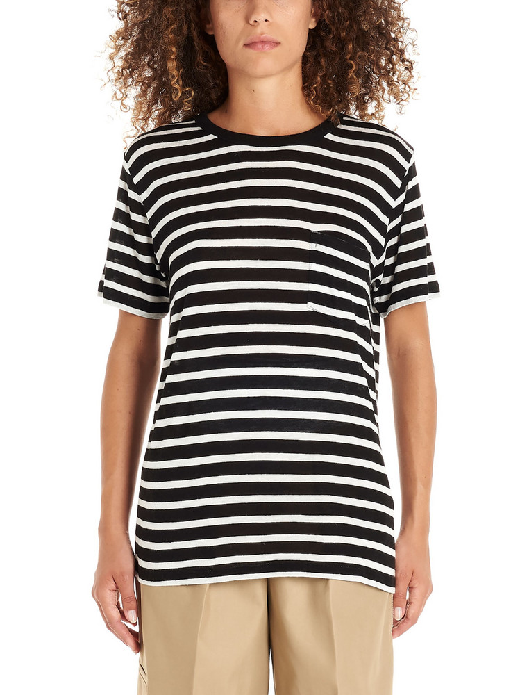 T By Alexander Wang T-shirt in black / white