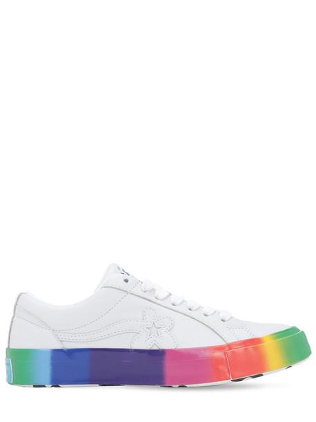 CONVERSE X TYLER THE CREATOR Golf Le Fleur Color Fade Sneakers