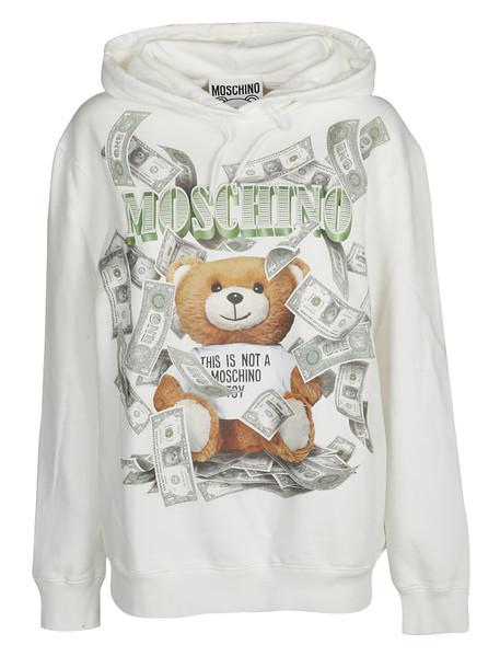 Moschino Teddy Dollar Print Sweatshirt