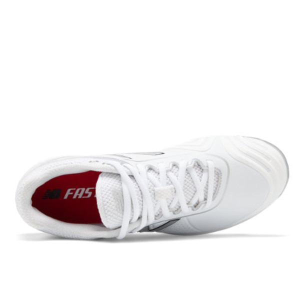 New Balance Fuse v2 Low Cut Metal Women's US Site Exclusions Shoes - White/Silver (SMFUSEW2)