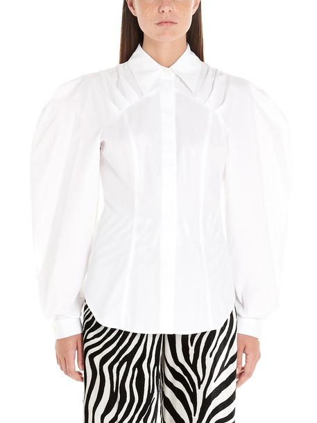 Sara Battaglia Shirt in white