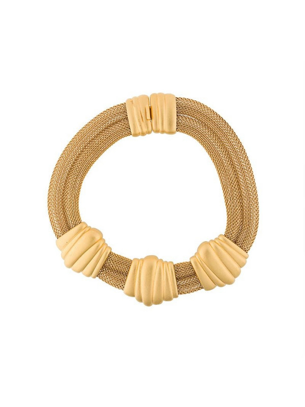 Monet Pre-Owned Monet Statement Collar Necklace in gold