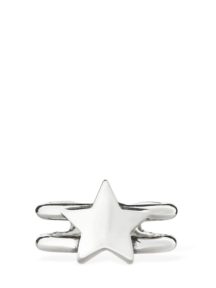 PHILIPPE AUDIBERT Rory Brass Star Ring in silver