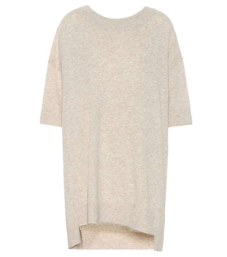Dorothee Schumacher Irresistible Ease wool and cashmere sweater in beige