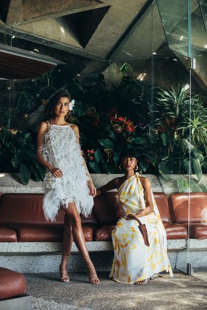 Cult Gaia Shannon Dress - Cream (PREORDER)                                                                                               $1,198.00