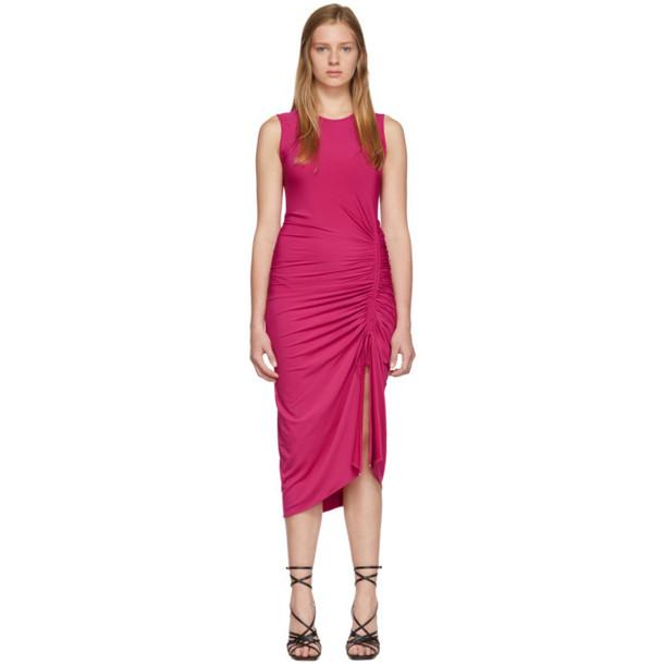 Altuzarra Pink Sleeveless Mid Dress
