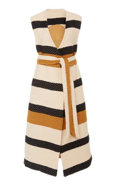 Ulla Johnson Emerson Striped Vest Size: S in white