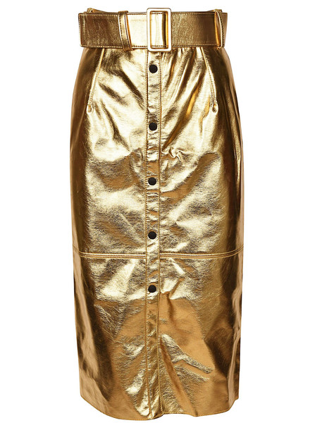 MSGM Button Up Pencil Skirt