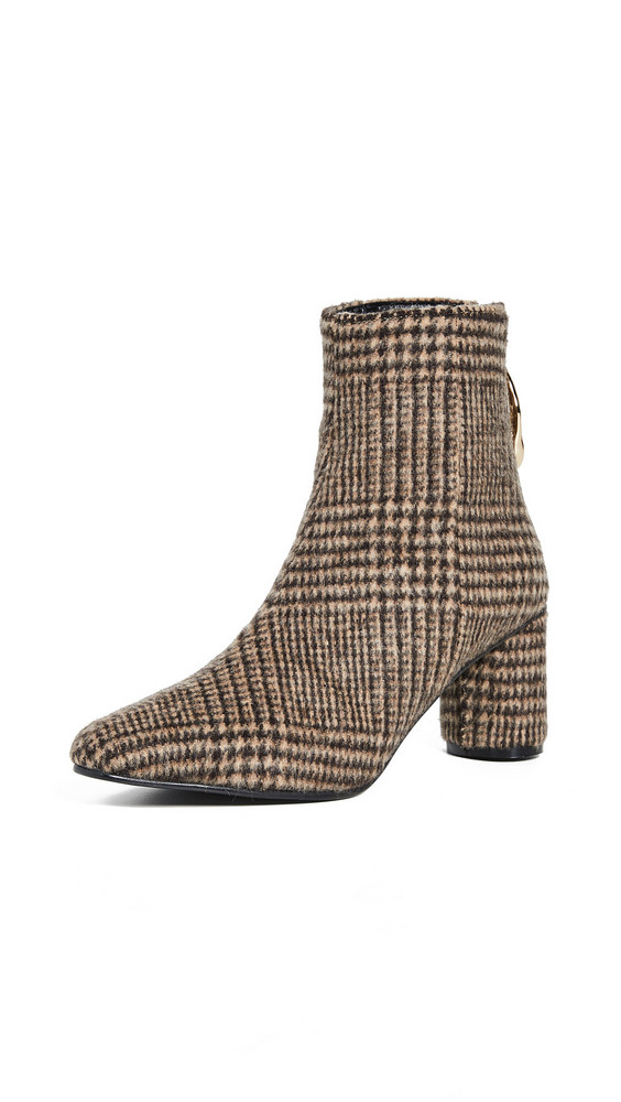 Reike Nen Wave Oval Ankle Boots in brown