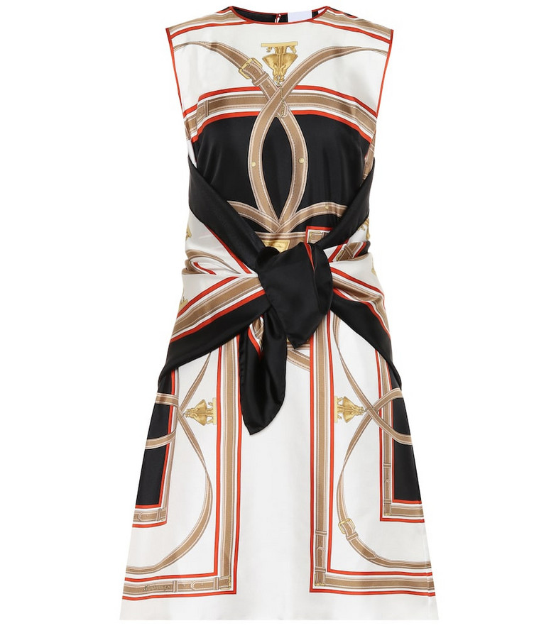 Burberry Archive Scarf silk minidress