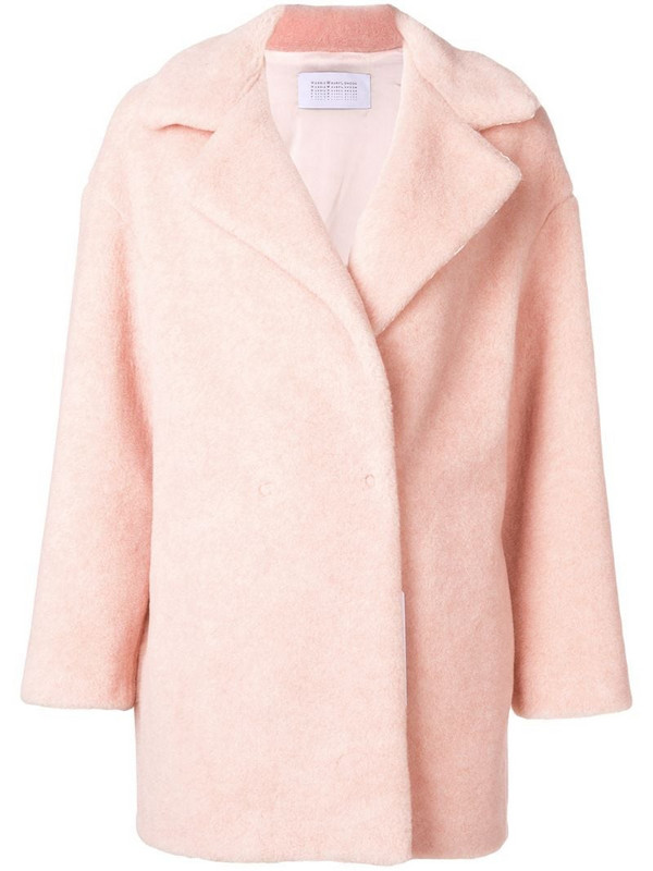 Harris Wharf London short coat in neutrals
