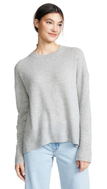 Theory Karenia Cashmere Sweater in grey