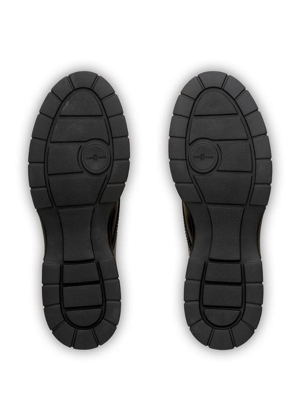 Car Shoe Block lace-up shoes in black