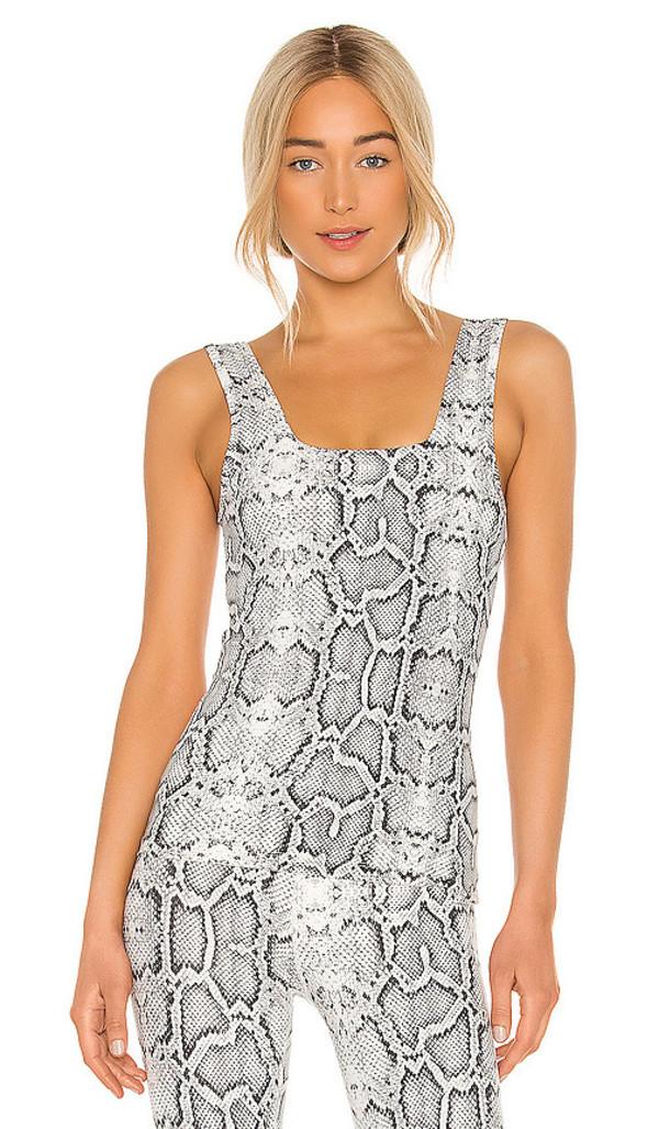 Varley Aletta Vest in Black & White in ivory