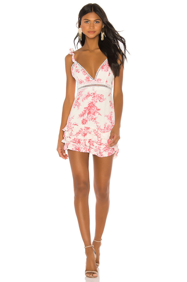 X by NBD Dolores Mini Dress in pink