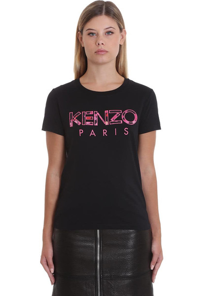 Kenzo T-shirt In Black Cotton