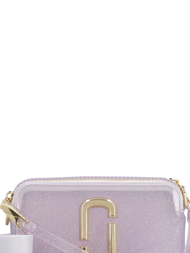 Marc Jacobs Snapshot Pvc Camera Bag in silver