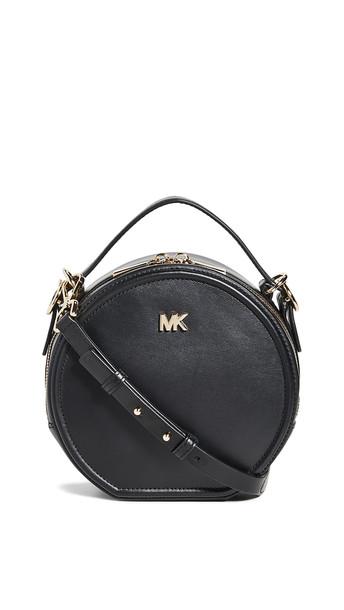 MICHAEL Michael Kors Delaney Medium Canteen Bag in black