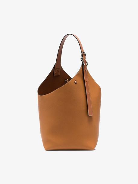 Loewe tan Balloon leather tote bag