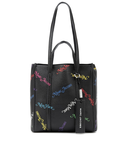 Marc Jacobs The Tag leather tote in black