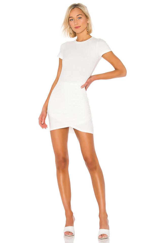 superdown Kory Tee Shirt Dress in white