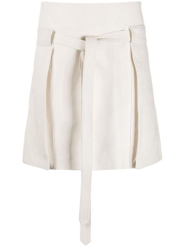Wandering A-line skirt in neutrals