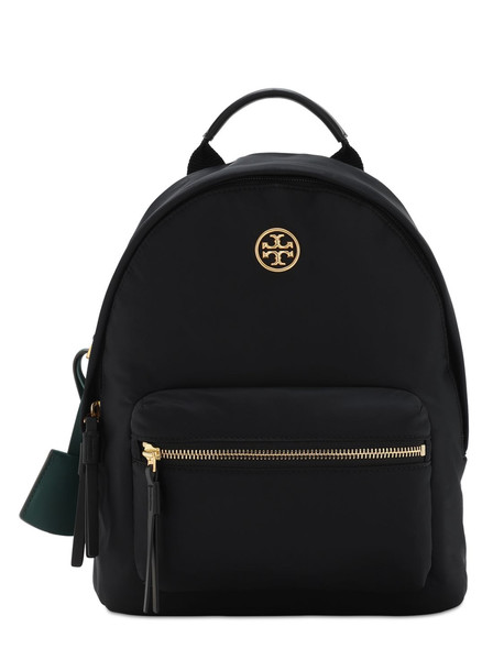 TORY BURCH Piper Small Nylon Zip Backpack in black