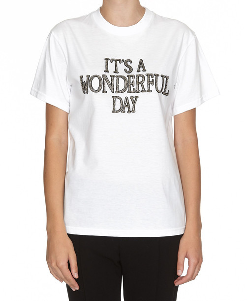 Alberta Ferretti T-shirt in white