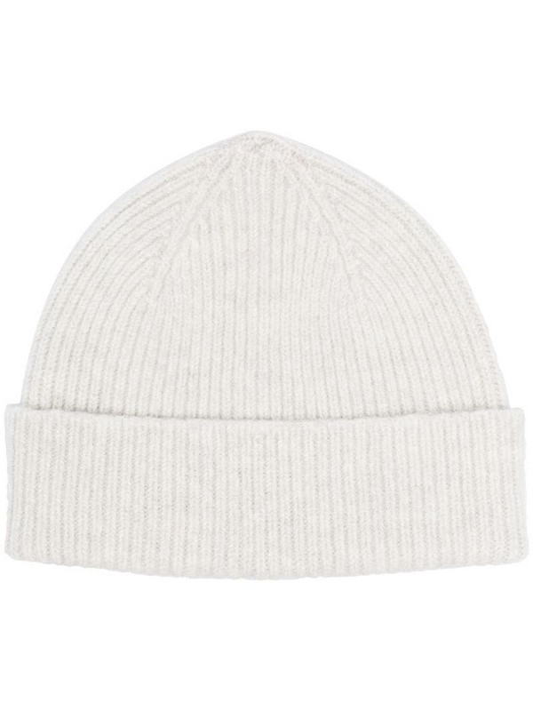Le Bonnet ribbed-knit beanie in grey