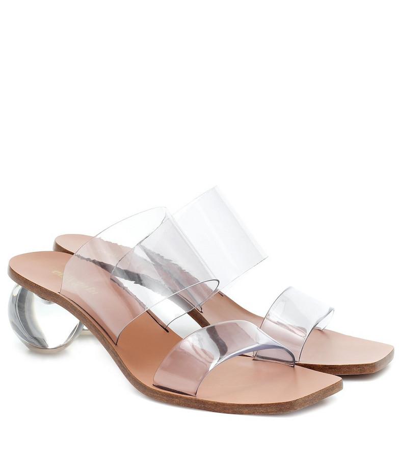 Cult Gaia Jila sandals in white