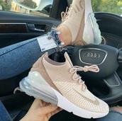 shoes,nike,pastel pink,sneakers