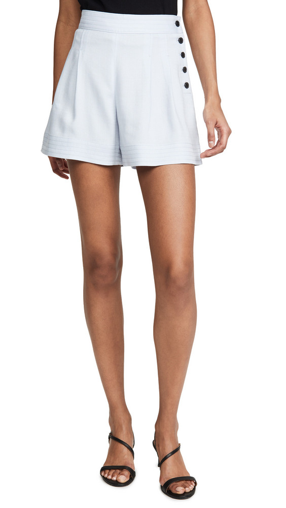 Club Monaco Lettee Shorts in blue