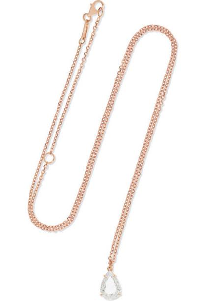 Anita Ko - 18-karat Rose Gold Diamond Necklace