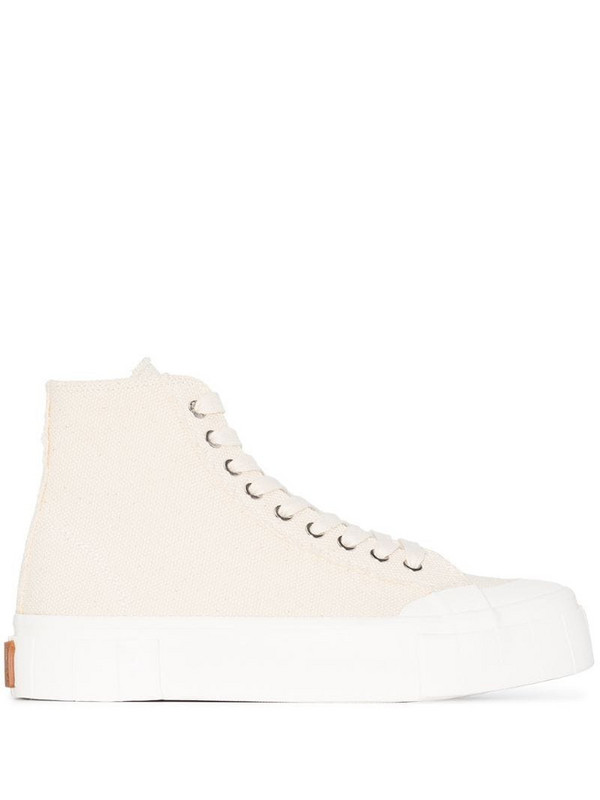 Good News Palm high-top sneakers in white